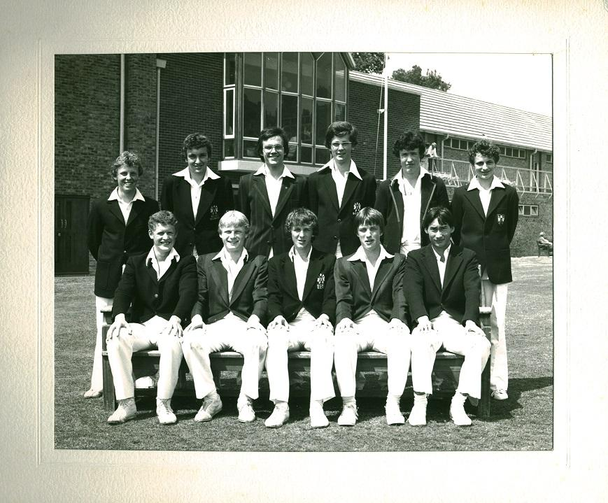 1980 boys cricket first eleven