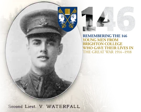 2nd Lt. Vincent Waterfall (BC. 1907-09)