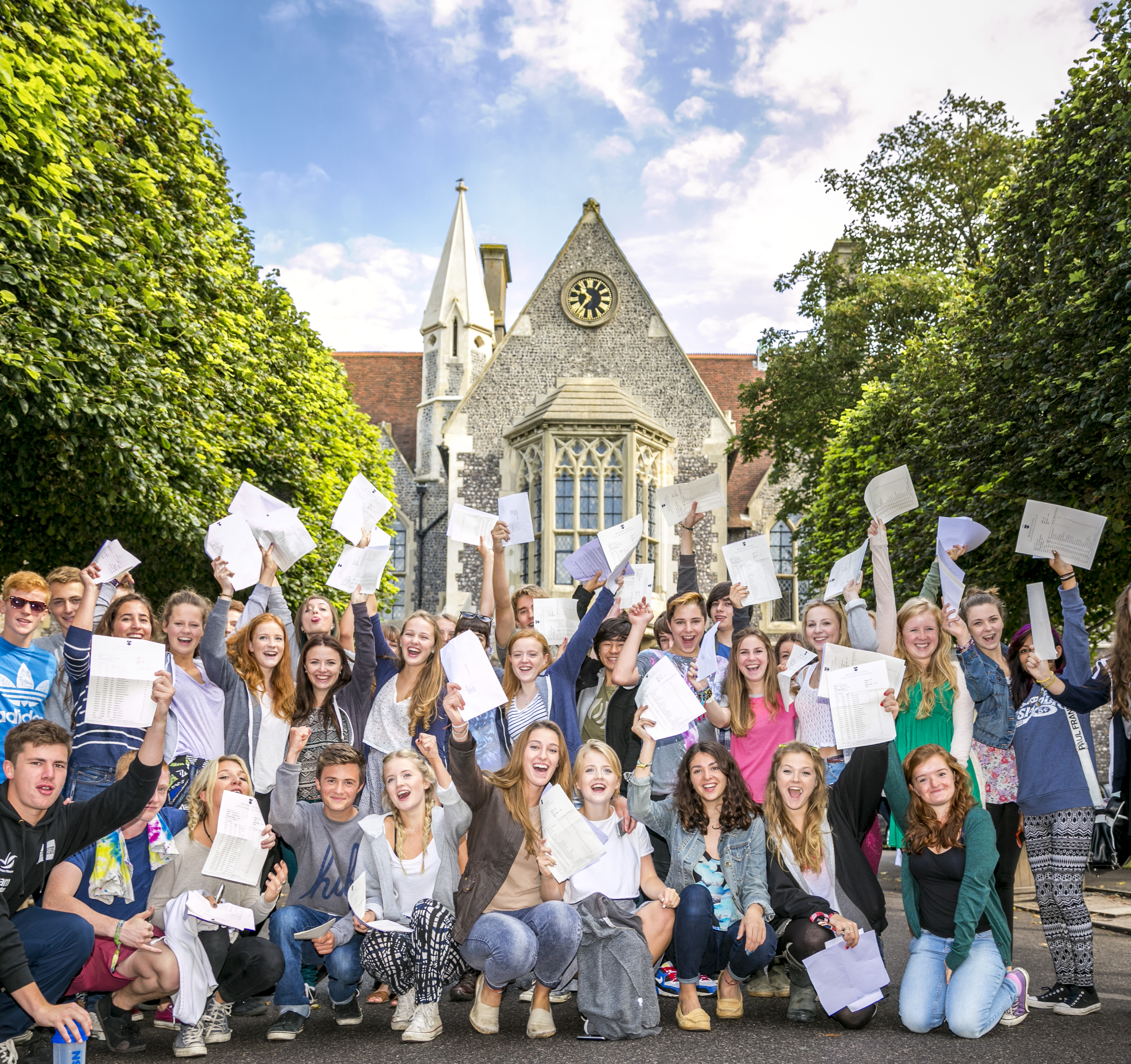 Brighton College breaks UK GCSE record