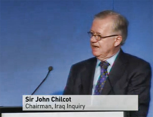 Rt Hon Sir John Chilcot GCB (H/S. 1952-57)