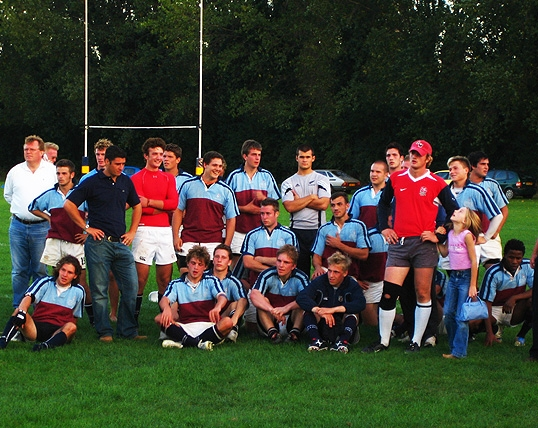 The OBRUFC - the 2006 Cronk-Cunis winning team