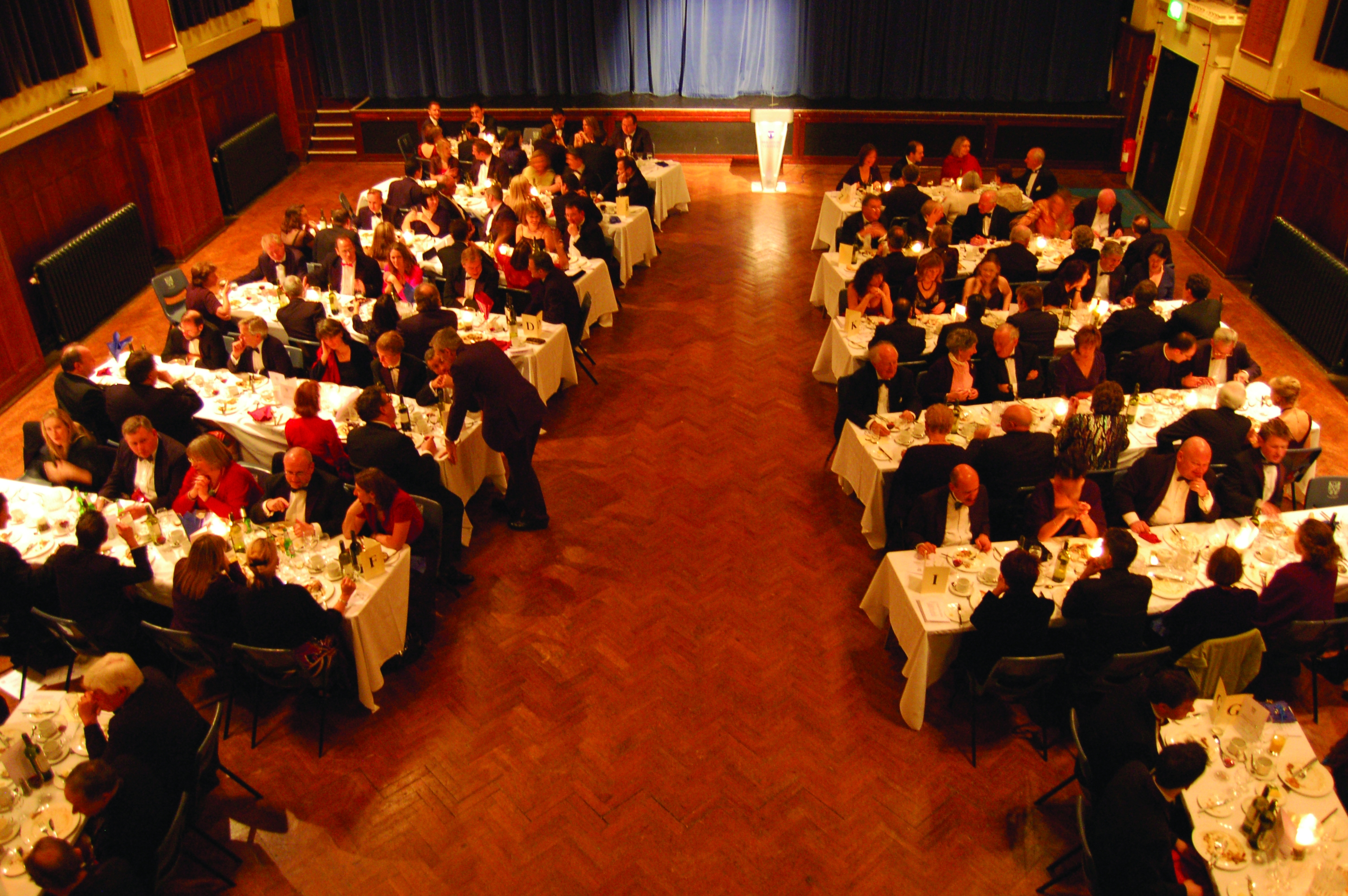 The Geat Hall, OBA Annual Dinner 2007