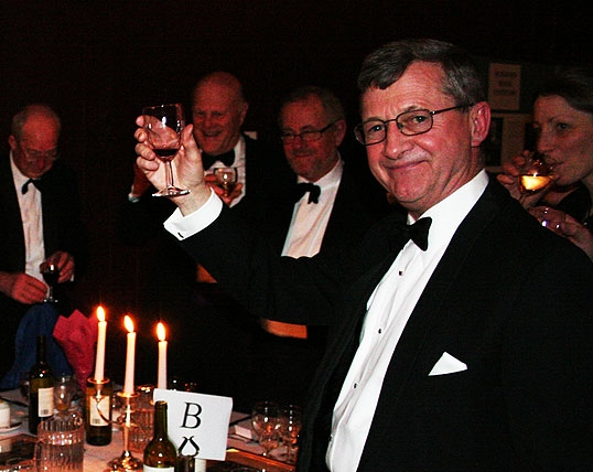 Martin D. J. Buss (D. 1954-58) at the 100th Anniversary Dinner of the founding of Durnford House