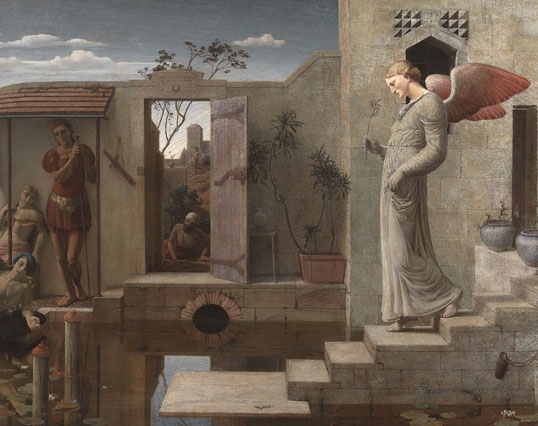 "Robert Bateman - ""The Pool of Bethesda"" (1877)"