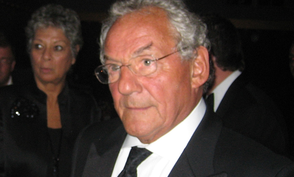 Johnny Gold (L. 1940-45) at the 2005 Annual Dinner